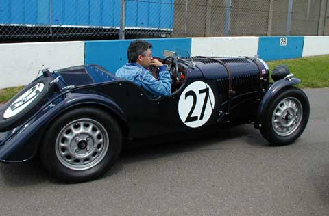 Recreation Collecting Sports Auto Racing on 1939 Morgan 4 4 Le Mans Recreation